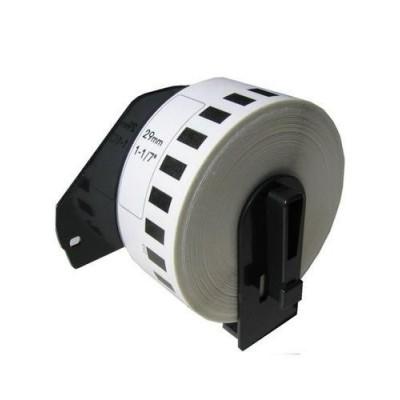 RINKLEE DK-11208 Etichette Compatibile per Brother P-Touch QL-500 QL-550 QL-560 QL-570 QL-580 QL-700 QL-710W QL-720NW QL-800 QL-810W QL-820NWB QL-1060N QL-1100 QL-1110NWB 38 x 90 mm 5 Rotoli
