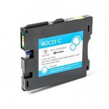 CARTUCCIA TESTINA COMPATIBILE CIANO GC21C - SERIE 405533 per Ricoh Aficio GX 3000 s